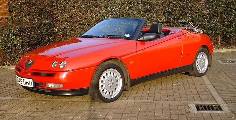 alfa romeo spider review. Black Bedroom Furniture Sets. Home Design Ideas