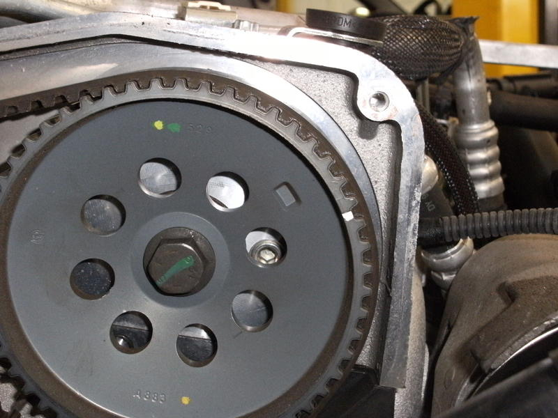 <p>Before removing the cam belt take note of the cam belt timing marks, this is the camshaft drive pulley.....