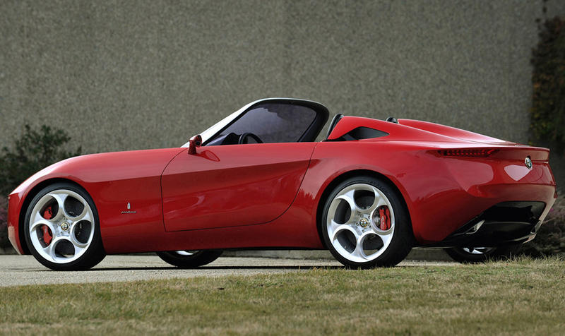The New Alfa Romeo Spider - Alfa romeo spider new model