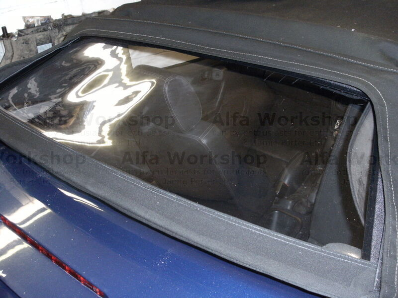 <p>Remove the protective film from the window and you have finished the job, If you have the electric hood you may need to run it through its cycle manually at this point to reset all the stop values.
