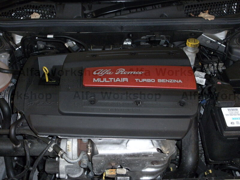 <p>Remove top cover of engine