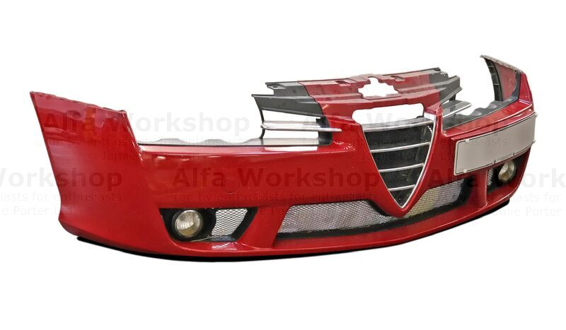 <p>To remove the bumper hop, skip and fall over to Removing The Bumper And Headlights From A Brera, at the end is a link to jump you back to this page.