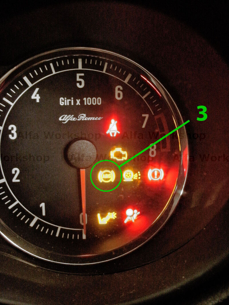<p>This light indicates there is a fault with the anti lock braking system and the anti lock braking system has been turned OFF. Again it is usually a sensor but it could be the control unit itself.