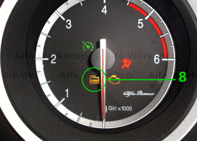 fiat 500 how to take off the oil change light