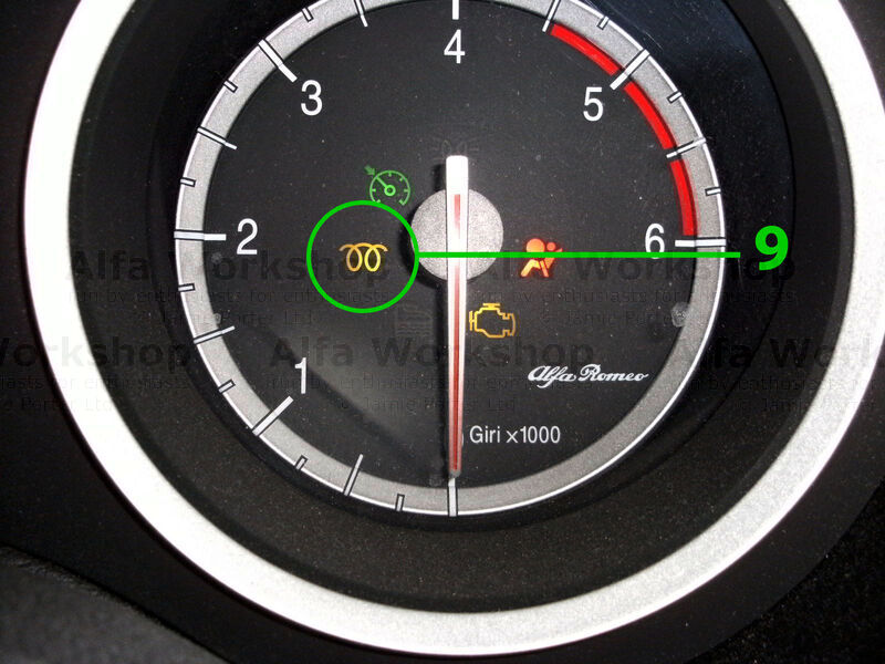 <p>Glow plug light on diesels on cold mornings this light should be allowed to go out before starting the engine. If the light flashes you probably have a glow plug that has failed however occasionally it can need the control unit which is situated next to the fuel filter.