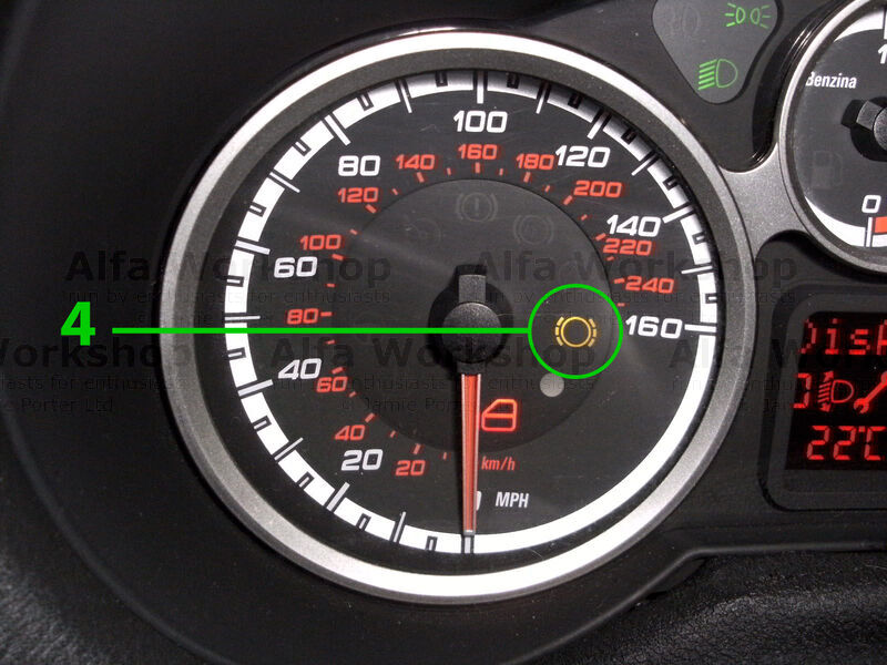 <p>Front brake pad wear indicator, you will need front brake pads soon.