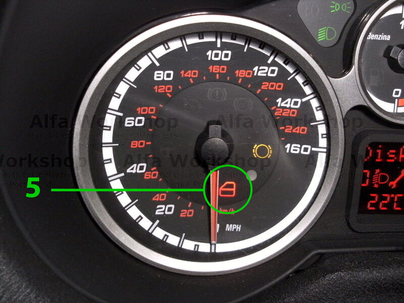 Alfa Romeo Mito Warning Lights