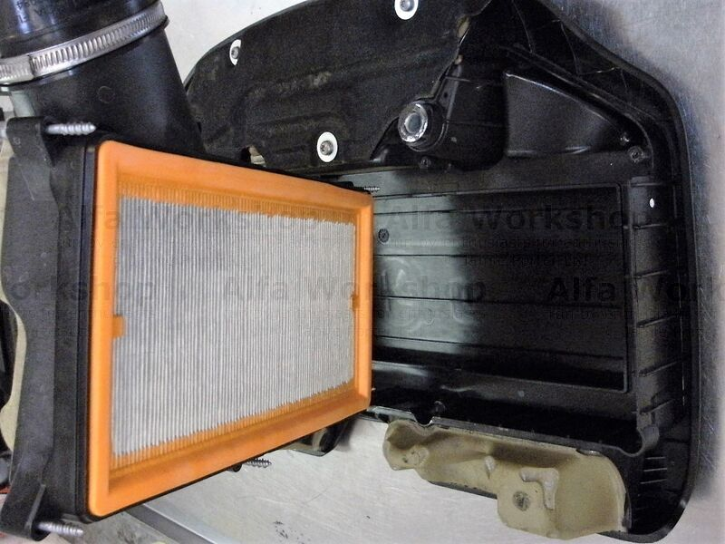 <p>Replace air filter if used in dusty conditions.