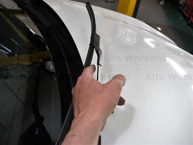<p>Check wiper blade condition and make sure screen washers work and hit the screen.