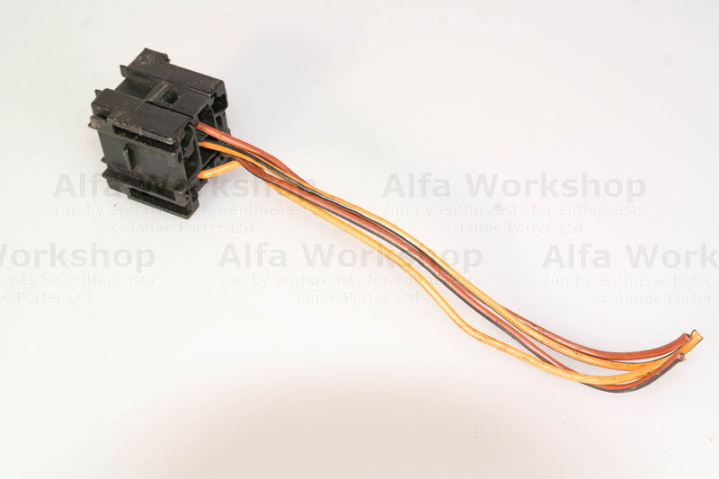 <p>A relay base with wires off a scrap Alfa Romeo (look round the battery or fuse box)