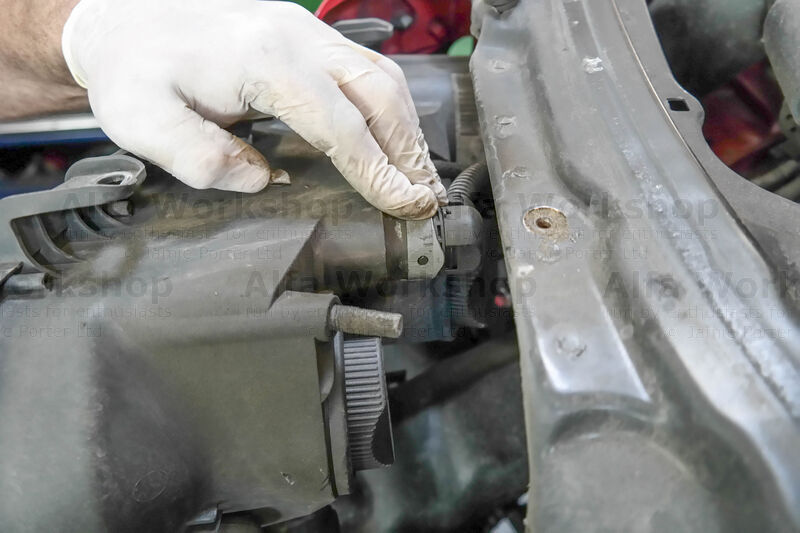 <p>then unclip the headlight connector.