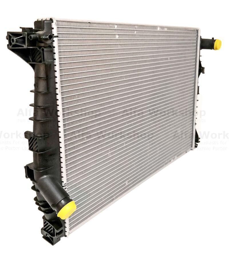 <p>If you now want to remove the radiator go to Brera radiator removal.