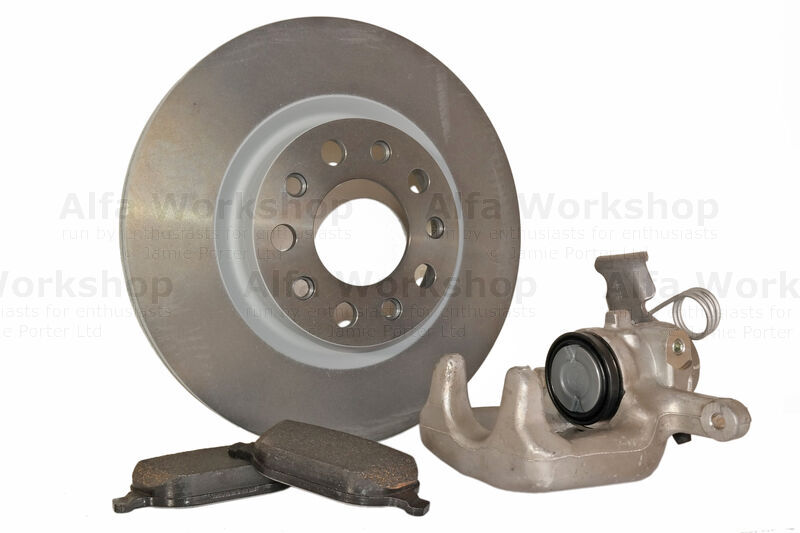 <p>Check condition of brake pads, discs and the wear warning indicator.</p><p>Keeping a distance...is it something I said?<br />