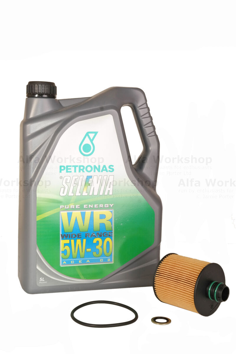 <p>Replace oil ,oil filter and sump plug washer.</p><p>Oil &amp; filter change<br />