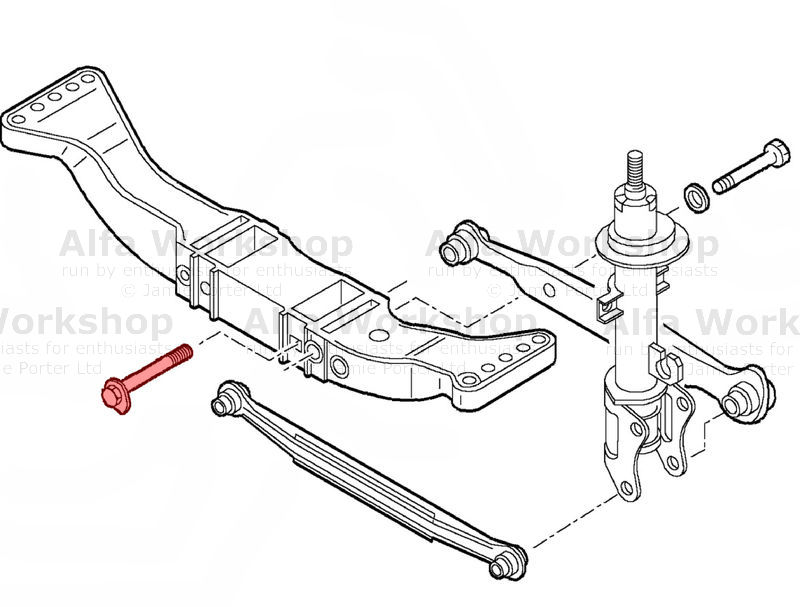 alfa romeo 156 front suspension diagram