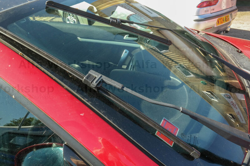 <p>Examine the front wiper blades for contact with the screen, splits and general wear. If there's bad contact then check the wiper arms are securely connected to the wiper motor linkage.