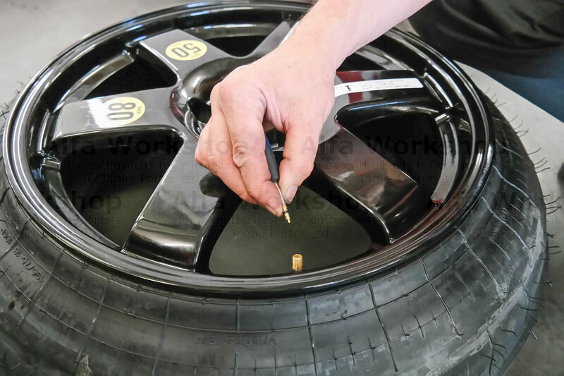 <p>Once the wheel has been repaired and put back on your vehicle you can deflate the space saver and it will go back to it's original shape....so you can put it in the boot for next time.
