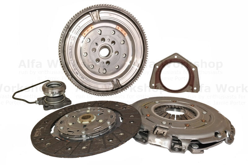 <p>Do you need to go back to Replacing The Clutch, Concentric Slave Cylinder, Flywheel and Rear Main Oil Seal On A 159/Brera 1750 Tbi?