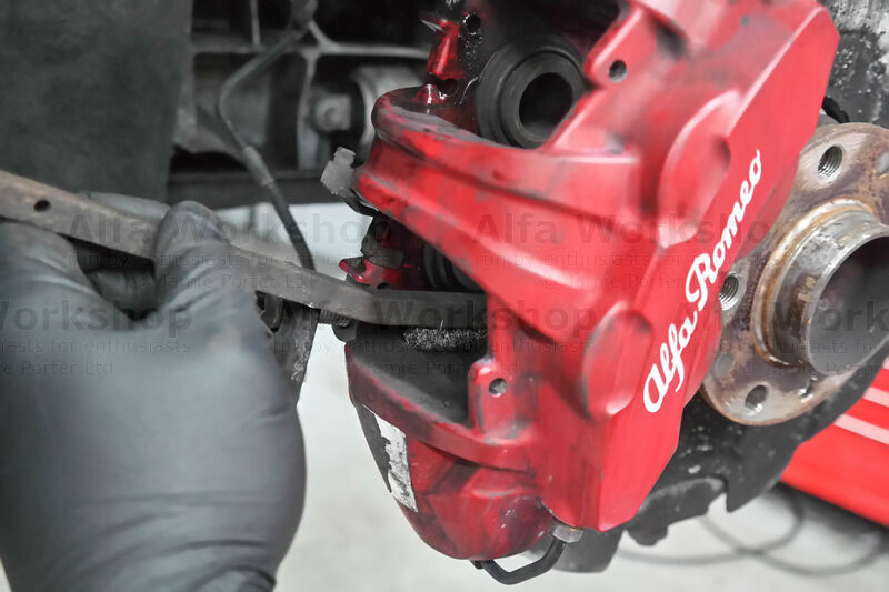 <p>Clean the caliper with a wire brush and even a file if you need to.