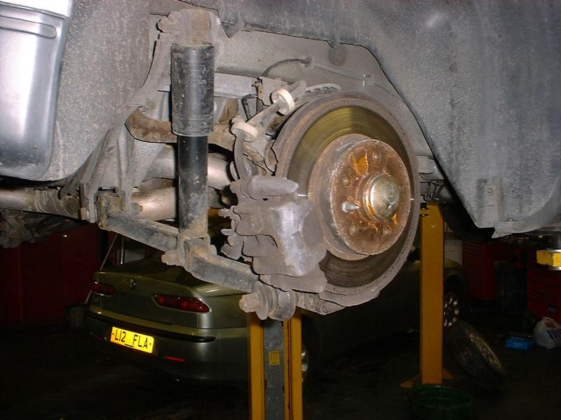 <p>General view of brake calliper
