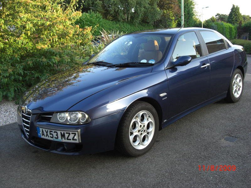 alfa romeo 156 1 9 jtd saloon for sale. Black Bedroom Furniture Sets. Home Design Ideas