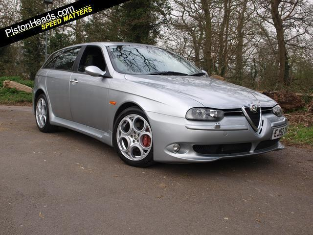 alfa romeo 156 3 2 gta sportwagon for sale. Black Bedroom Furniture Sets. Home Design Ideas