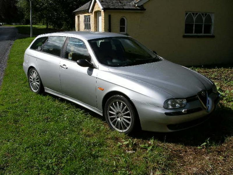 alfa romeo 156 sportwagon 2 5 v6 for sale. Black Bedroom Furniture Sets. Home Design Ideas