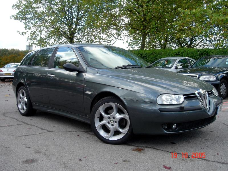 alfa romeo 156 sportwagon selespeed for sale. Black Bedroom Furniture Sets. Home Design Ideas