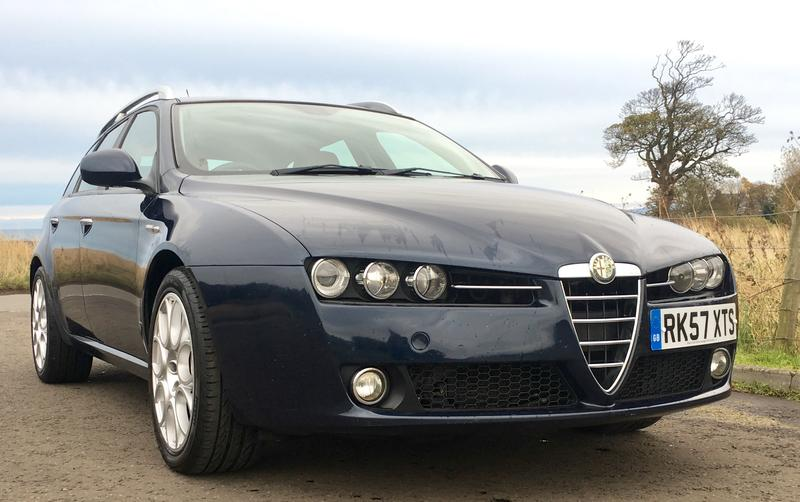 alfa romeo 159 sportwagon lusso for sale. Black Bedroom Furniture Sets. Home Design Ideas