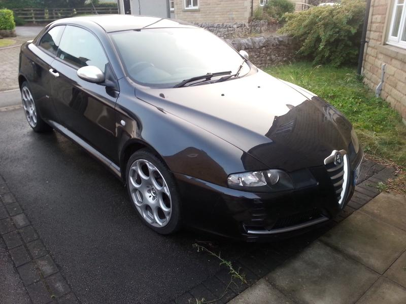 alfa romeo gt blackline limited edition for sale. Black Bedroom Furniture Sets. Home Design Ideas
