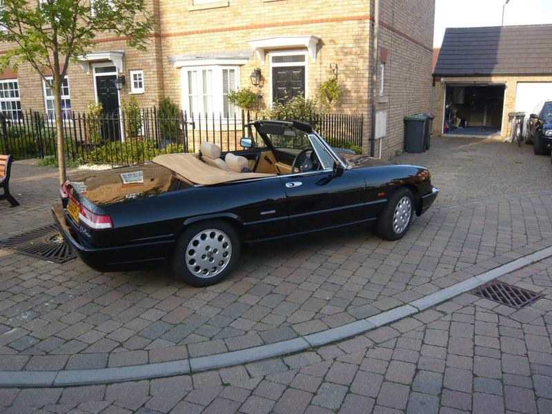Alfa Romeo Giulia Spider Series Spider For Sale - 1993 alfa romeo spider for sale
