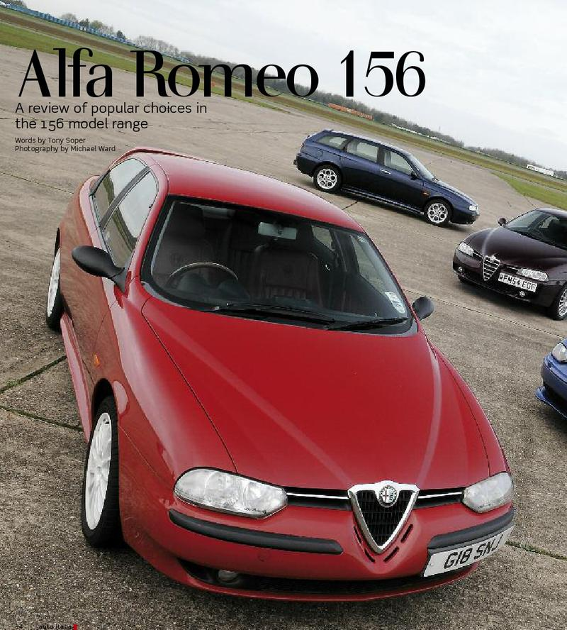 Auto Italia's 156 review of models
