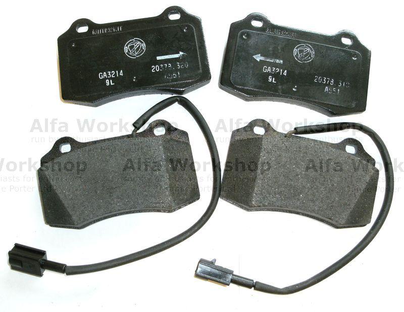 Alfa Romeo GTV SPIDER GT 2.0 16v  genuine front brake pads 71753039