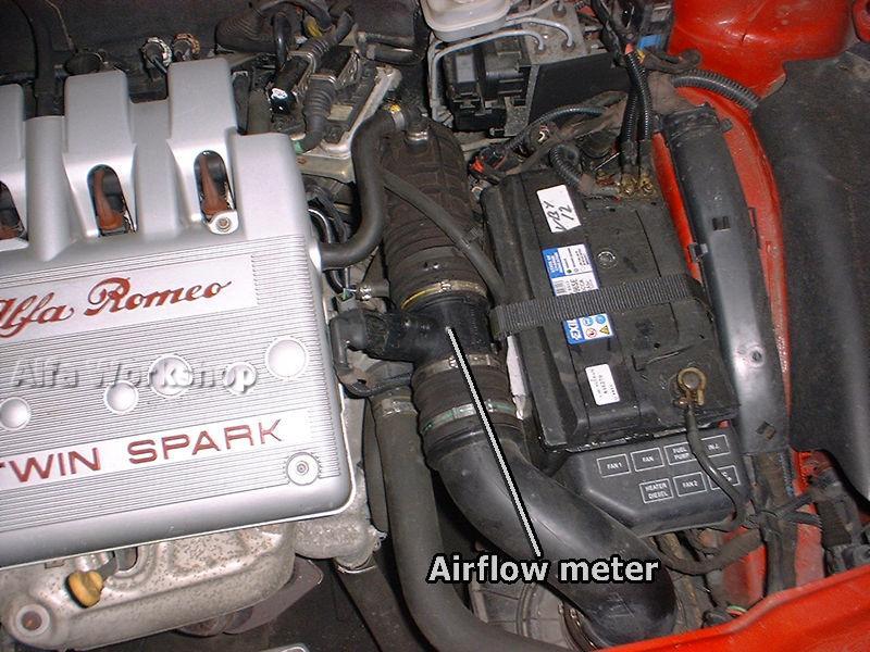 alfa 156 airflow meter